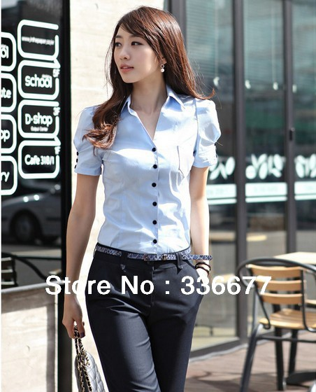 Womens Work Shirts And Blouses