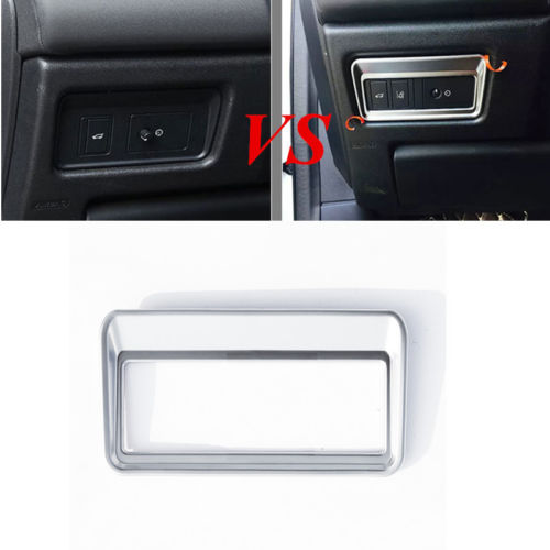 Trunk Button Decorative Frame Cover For Land Rover Discovery Sport 2015(high) rear bumper sill plate guards cover for renault koleos 2008 2009 2010 2011 2012