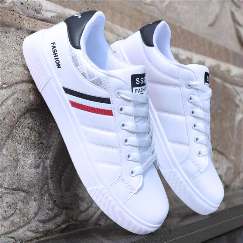 2019 Spring White Shoes Men Shoes Men's Casual Shoes Fashion Sneakers Street Cool Man Footwear zapatos de hombre