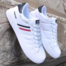 дешево!  2019 весна белая обувь мужская обувь мужская повседневная обувь мода кроссовки уличная классная мужс