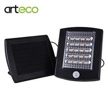 Солнечный уличный свет наружного освещения 20 LED Солнечный Сенсор свет аварийного бра безопасности пятно света