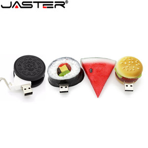 JASTER wholesale Sandwich biscuit shape USB Flash Drive candy little mini funny pen drives 32gb/16gb/64gb usb U disk free shipp