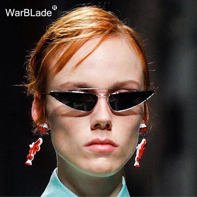 ba75892e56e Retro Cat Eye Sunglasses Women Yellow Red Lens Sun glasses Fashion Light  Weight Sunglass for women Vintage Eyewear WarBLade