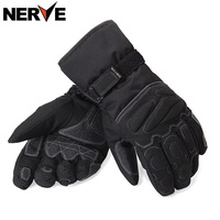 NERVE Motorcycle Motorcross Gloves Winter Waterproof Windproof Protective Cotton Gloves Breathable Non Slip Motorbike Gloves