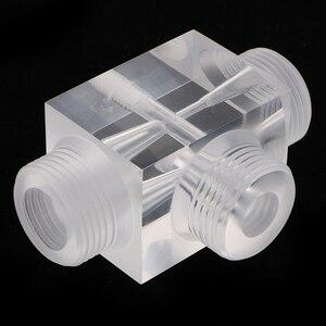 Image 3 - Jet Beluchter Van Venturi Pulsator Injector Voor Water Behandeling Farmaceutische Kit 60X43X43 Mm Gemaakt Van Plexiglas
