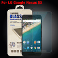 Nexus 5x hd ultrafino 9 h duro limpiar premium vidrio templado protector de pantalla de vidrio templado para lg google nexus 5x protector película