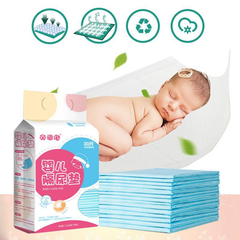Nouveau-né imperméable respirant jetable sous-couche couche soin protecteur Incontinence protecteur pour bébé adulte Pet 30 pièces
