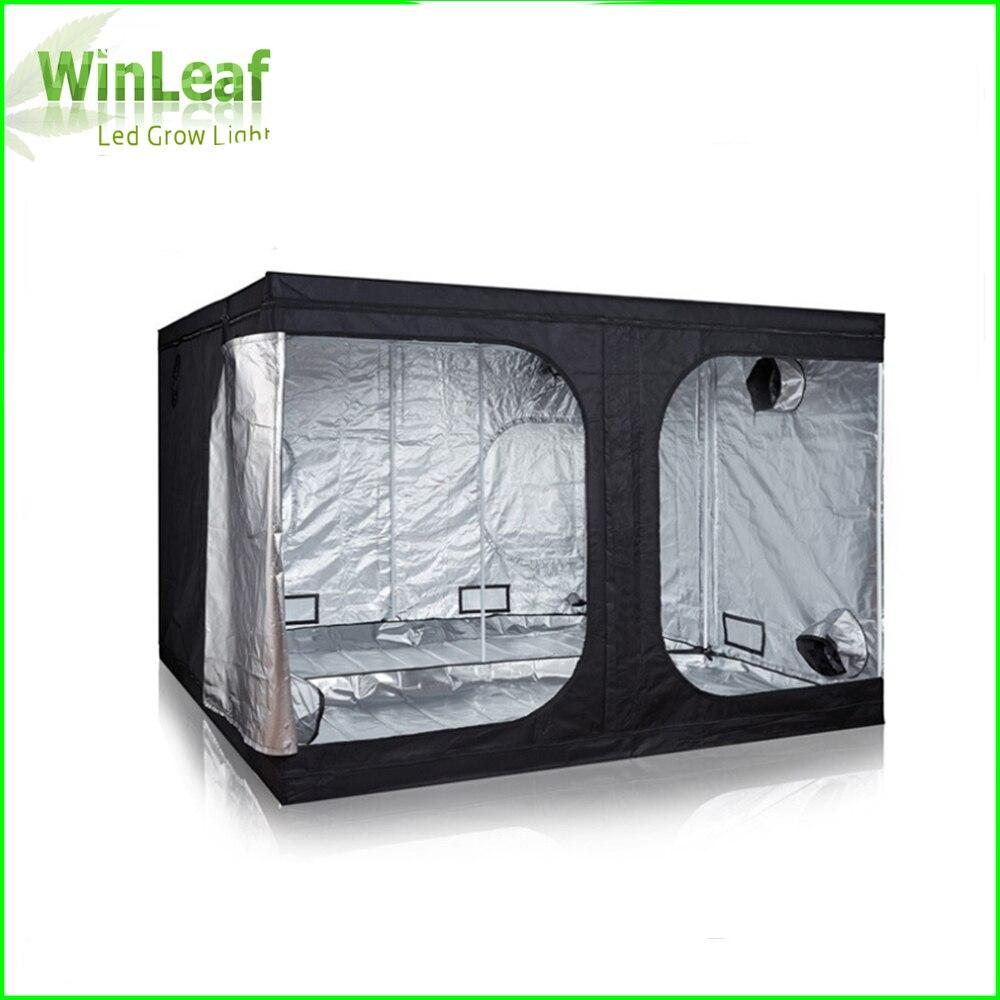 Crescere Tenda 300 con la Luce per la Coltura Idroponica Dell'interno Serra Impianti di Illuminazione 600D Coltiva La Tenda Interna Per La pianta coltiva le luci