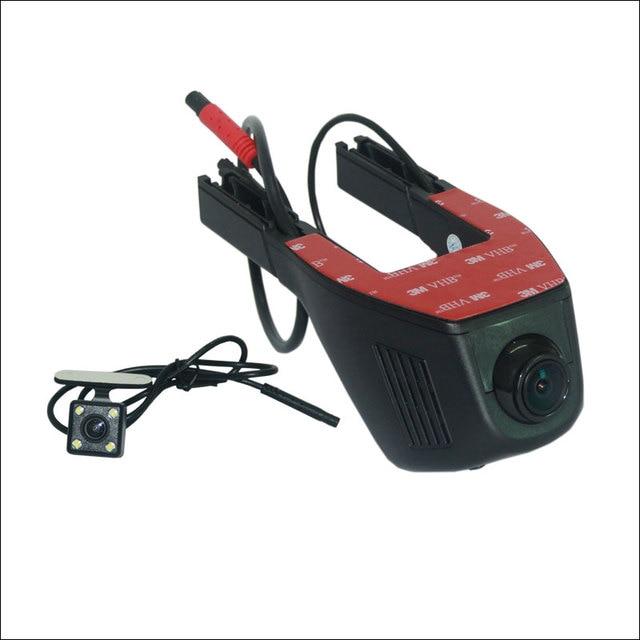 Car Dash Cam APP Control Car Wifi DVR For Ford Kuga 1 2 Driving Video Recorder Novatek 96658 Dual Lens Car Black Box Camcorder