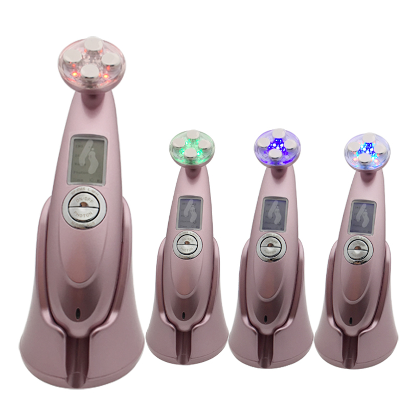 Mesotherapy Electroporation EMS RF Radio Frequency Skin Rejuvenation Lifting Tightening Photon Vibrate Facial Thermage Massager portable handheld home use rf ems radio frequency bio microcurrent facial warming body skin lifting tightening beauty device