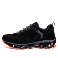 Men Running Shoes Sport Outdoor Black and gray Sneakers spring Summer 2018 Cheap Light Breathable Comfortable Men Jogging Shoes