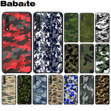 Babaite Camouflage Pattern Camo military Army Black Phone Case for Huawei P10 plus 20 pro P20 lite mate9 10 lite honor 10 view10(China)