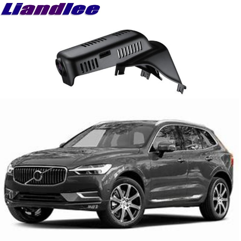 Liandlee For Volvo XC60 2009~2017 Car Black Box WiFi DVR Dash Camera Driving Video Recorder цена