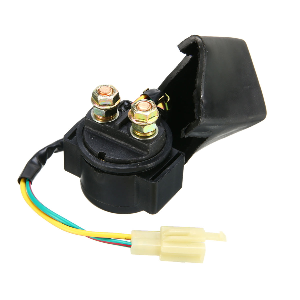 motorcycle ignition 50cc 125cc cdi quad wiring harness loom solenoid coil rectifier for 50cc 110cc [ 1200 x 1200 Pixel ]