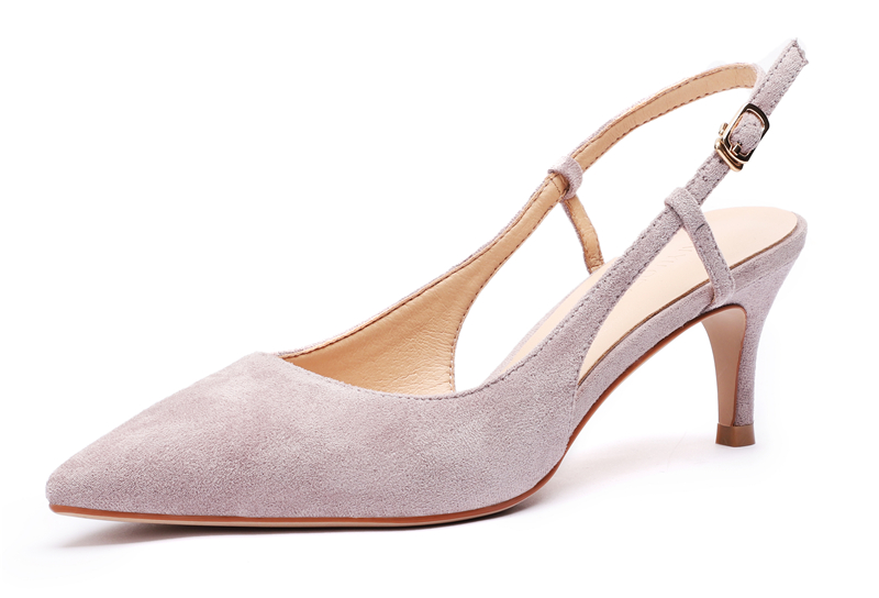 Woman's Spring 6cm Thin High Heels Slingbacks 11