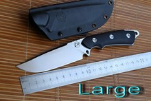 LW Accord D2 steel blade G10 handle fixed blade hunting knife KYDEX Sheath camping survival outdoors EDC knives tools