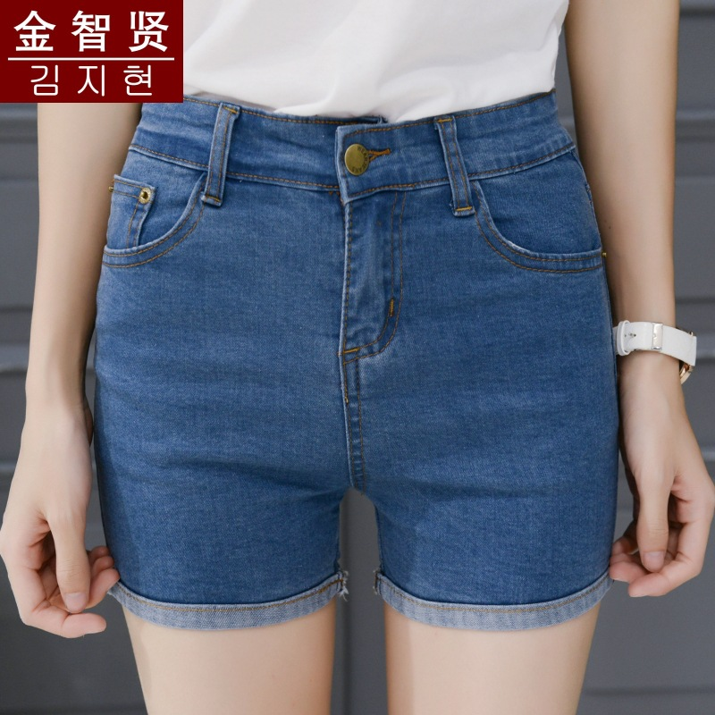 2016 new show thin volume edge pants thin large jeans
