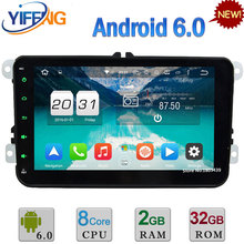 Android 6 Octa Core 2GB RAM Car DVD Player For VW Caddy Skoda Fabia Roomster Superb Praktik Octavia Yeti Seat Leon Altea Toledo