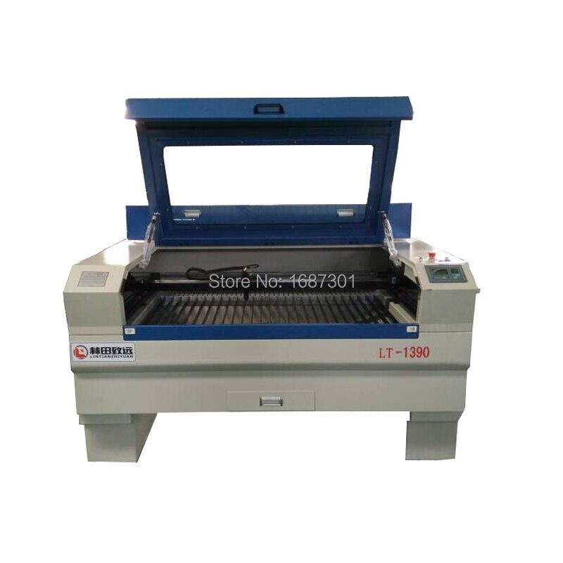 Hot selling 1390 co2 laser tube engraving machine for plastic wood acrylic 130watt laser cutting machine