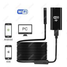 1/2/3,5/5 м 8 мм 720 P 2MP Универсальный Wifi Android эндоскоп осмотр USB бороскоп трубка змея мини камера Micro Cam для Iphone PC