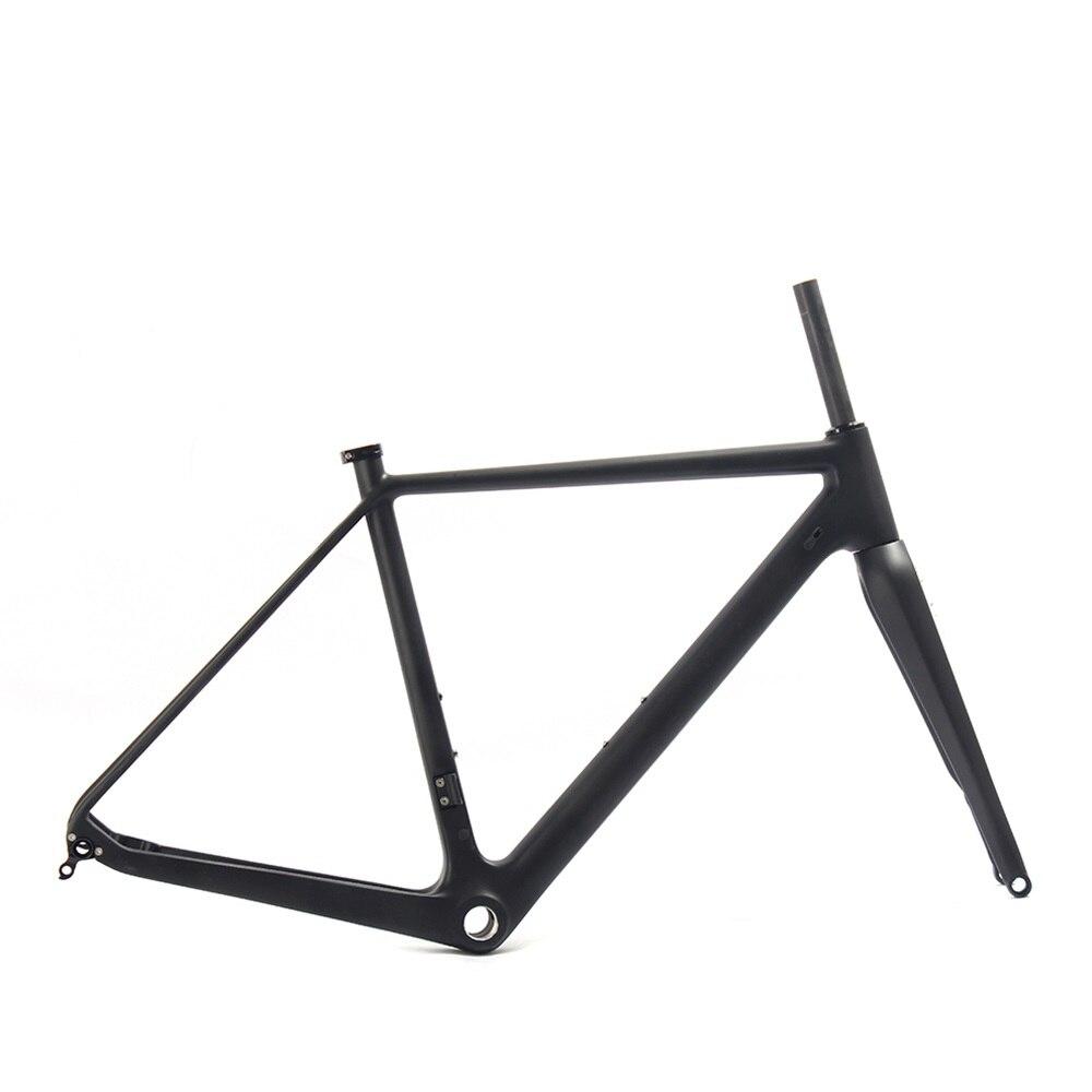 2017 New Model Carbon Road MTB Bike Frame Full Carbon Gravel Bicycle Frame Road Cyclocross Bike Frame