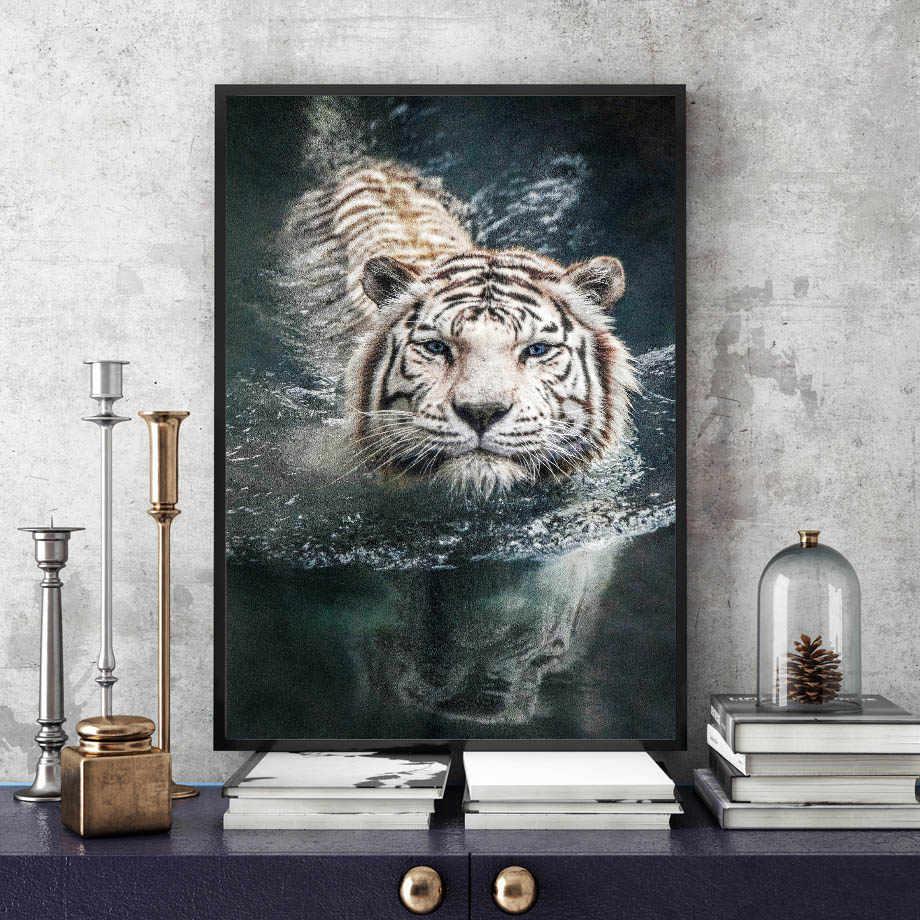 Detalle Comentarios Preguntas Sobre Tigre De Bengala Blanca Pared
