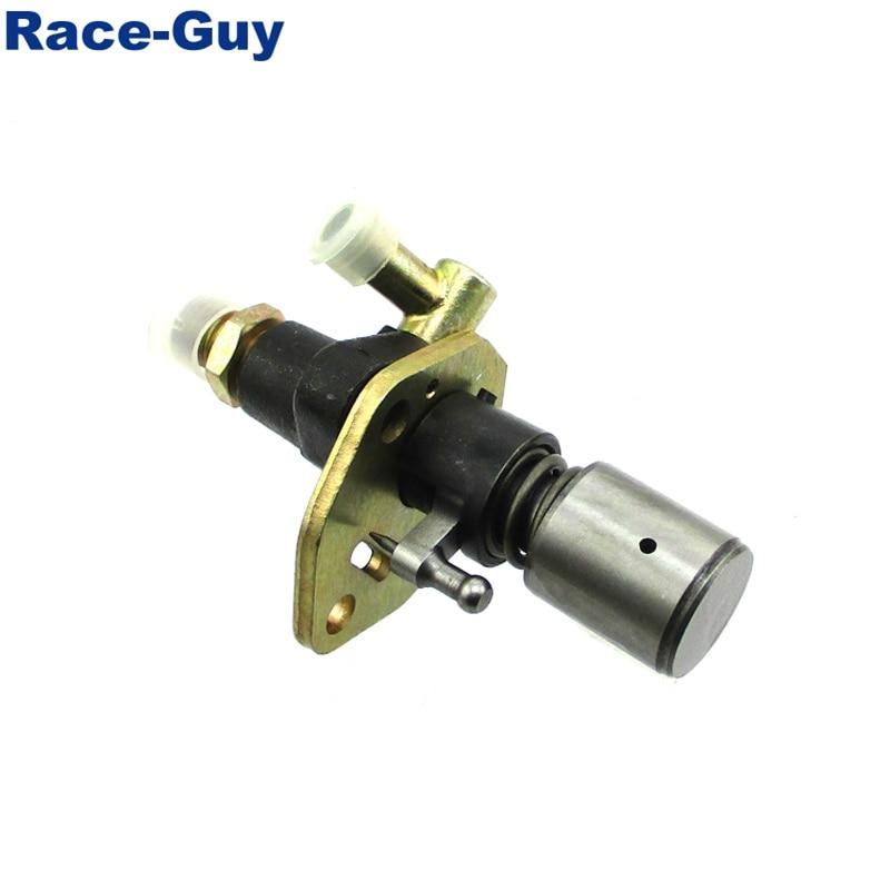 Race-Guy Fuel Injector Pump No Solenoid For 186 186F 10HP Yanmar Diesel Engine L100 Motor