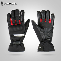 Richa Windproof Protective Gloves Motorcycle Gloves Winter Warm 100 Waterproof Touch Screen Guantes Moto Motocross Stars
