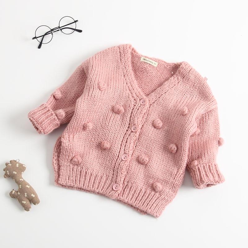 61f49909d Aliexpress.com   Buy MYUDI Baby Girl Boy s Sweater Pom Pom Design ...