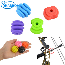 1pcs Archery Bowstring Stabilizer Rubber Suppressor Balls For Bracket Compound Bow Accessories