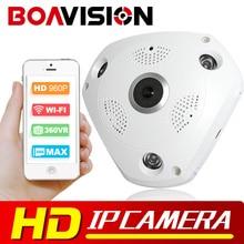 1.3MP 3D VR Cam WIFI IP Camera 960P Fisheye Lens HD Panorama WI-FI Camera IR Night Vision CCTV Security Camera BOAVISION