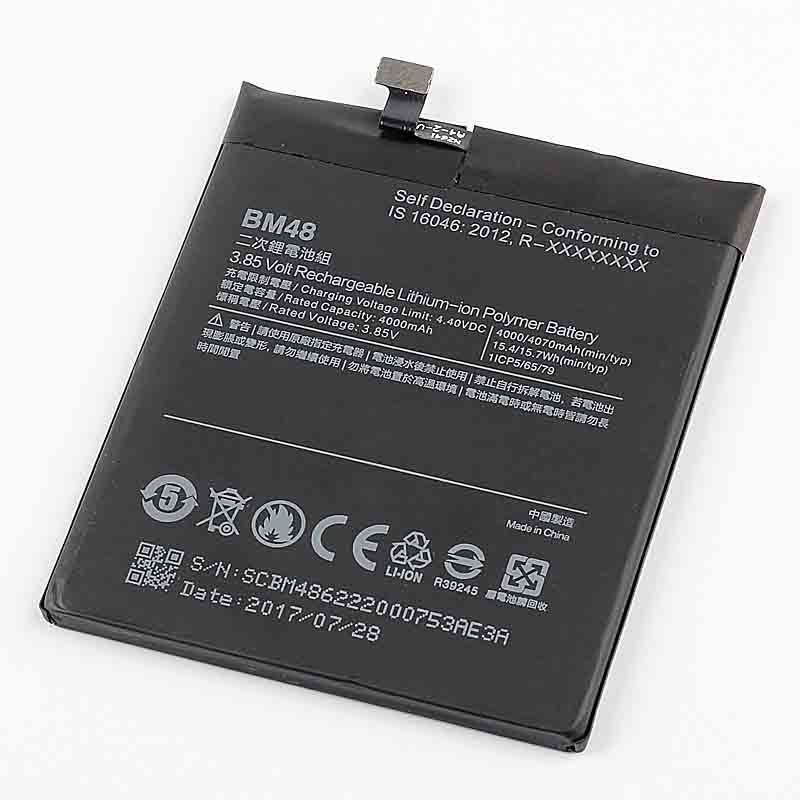 Original BM48 Battery for Xiaomi Mi Note 2 Note2 Batteries 4070mAh