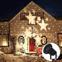 Star Projector Light With 4 LED Bead 360 Degree Romantic Room Rotating,IP67 Waterproof For SDecorative;Valentine;Wedding