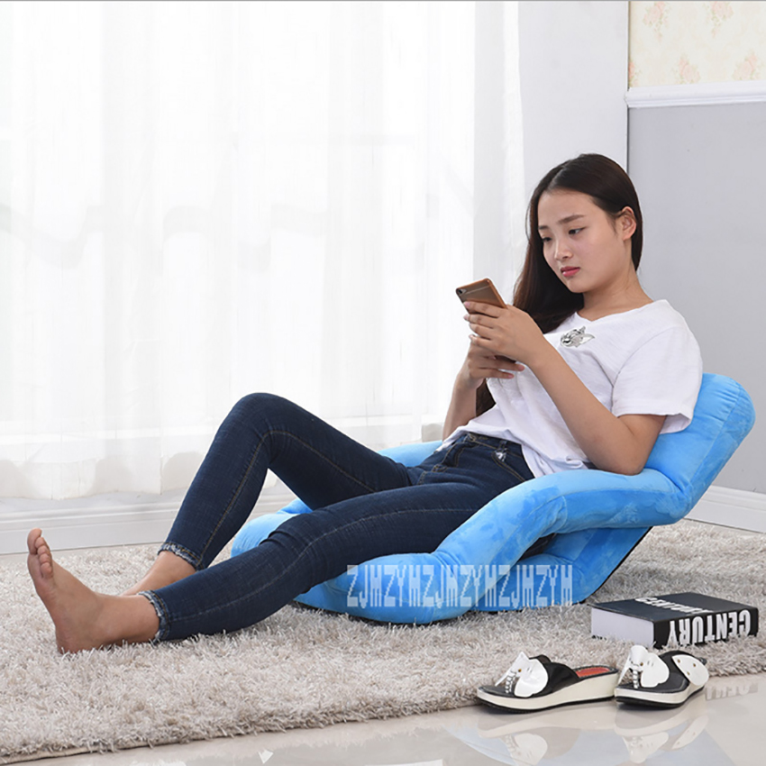 HD001 5-Gear Adjustment Lazy Sofa Living Room Foldable Chair Bedroom Chaise Lounge Balcony Tatami Sofa Computer Backrest ChairHD001 5-Gear Adjustment Lazy Sofa Living Room Foldable Chair Bedroom Chaise Lounge Balcony Tatami Sofa Computer Backrest Chair
