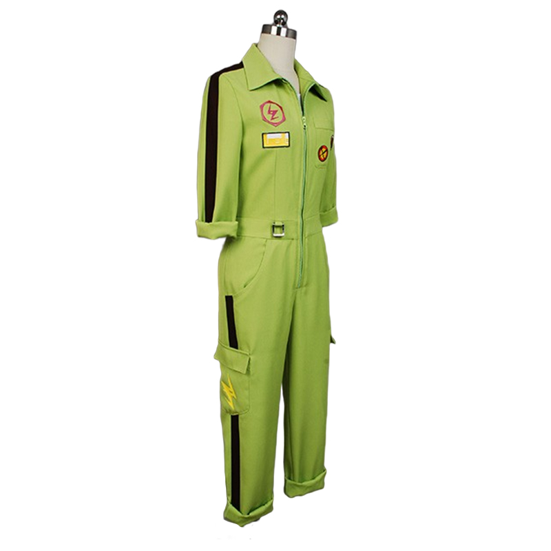 Image 3 - Super DanganRonpa Cosplay Kazuichi Costume Kazuichi Souda Full Set Uniform Jumpsuit With Hat Outfit Halloween Costume vest wig-in Movie & TV costumes from Novelty & Special Use