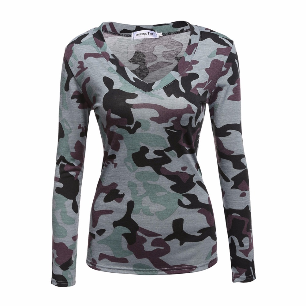 camouflage hipster women t shirt top t shirt punk rock clothing camo. Black Bedroom Furniture Sets. Home Design Ideas