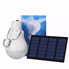 LED Solar Energy Conservation Portable Led Bulb Light Charged Solar Energy Lamp Home Outdoor Lighting Use Outdoor Garden