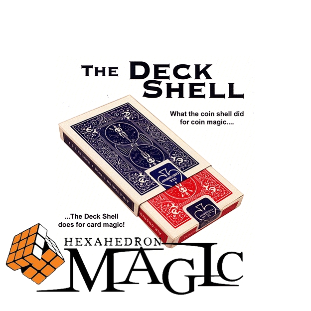 High-quality metal made Deck Shell (blue) Chazpro Collectibls