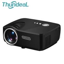 ThundeaL 1200 Lumens GP70 Mini Projecteur Portable Proyector LED Beamer Home Cinéma 3D Film Jeu Vidéo TV Avec HDMI VGA USB