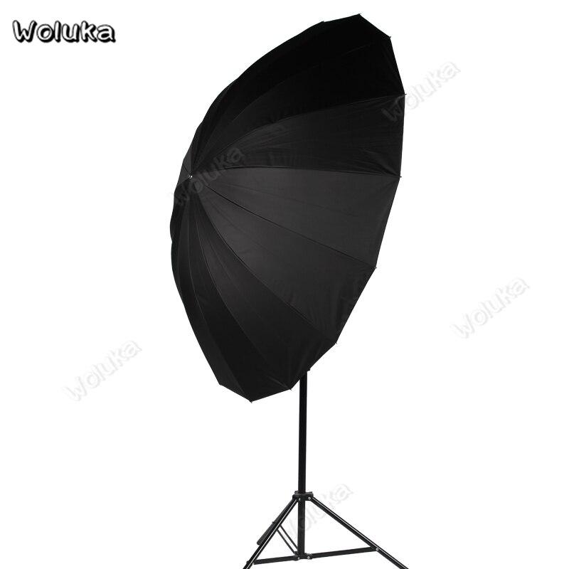 Color : Black , Size : 165cm Photographic Reflector 165cm Silver Reflective Umbrella Black Reflective Photography Umbrella Silver Reflective Umbrella Photography Studio Softbox Portable Reflector