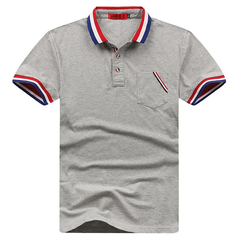 Plus Size 5XL 6XL 7XL 8XL Bust 155cm Brand Solid Striped   Polo   Shirt Men Cotton Short   Polo   Men Big Size XXL XXXL 4XL