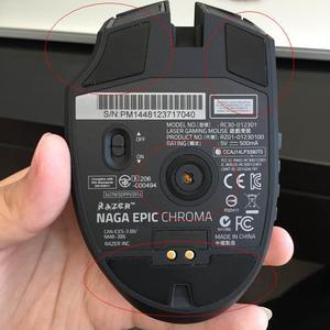 Совершенно новый USB кабель для зарядки игровой мыши Razer Naga Epic Chroma, запасные части с бесплатной ножкой мыши
