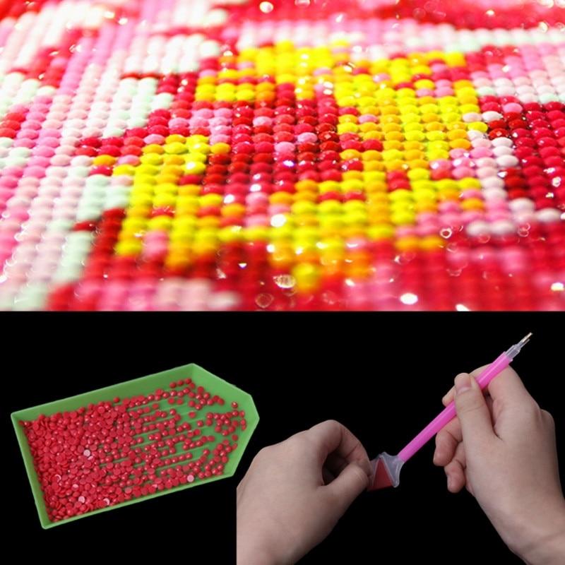50PCS LOTS Diamond Painting accessory Diamond embroidery glue 2 2CM dotting glue daimond painting wax Mud in Diamond Painting Cross Stitch from Home Garden