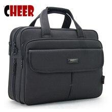 ビジネスブリーフケースのラップトップバッグポータブルショルダーバッグ大容量防水オックスフォード布ハンドバッグ高品質メッセンジャーバッグ
