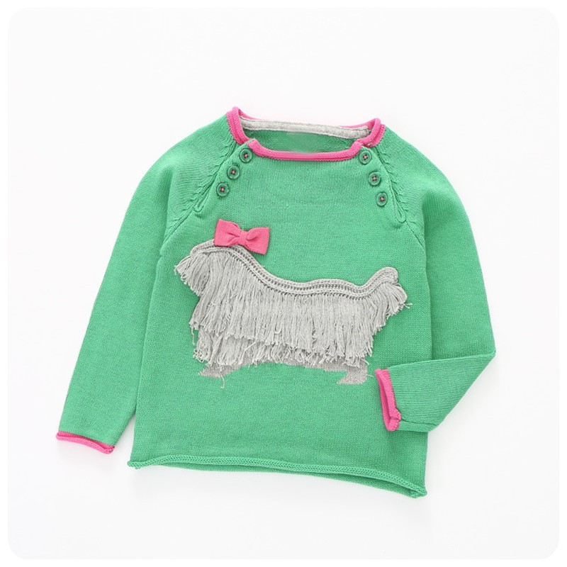 baby-girls-sweater-tassel-bows-Dog-cartoon-children-sweaters-autumn-cotton-toddler-kids-clothing-for-girls