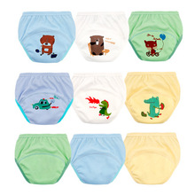 hot deal buy waterproof baby pants 1pc cute baby cotton training pants reusable infants nappies diapers breathable baby cloth diapers  6-19kg