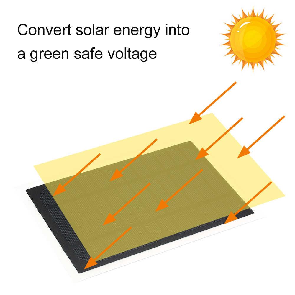 Panel Solar de silicona policristalina China para RV 6 V 3,5 W coche Panel Solar accesorios de coche