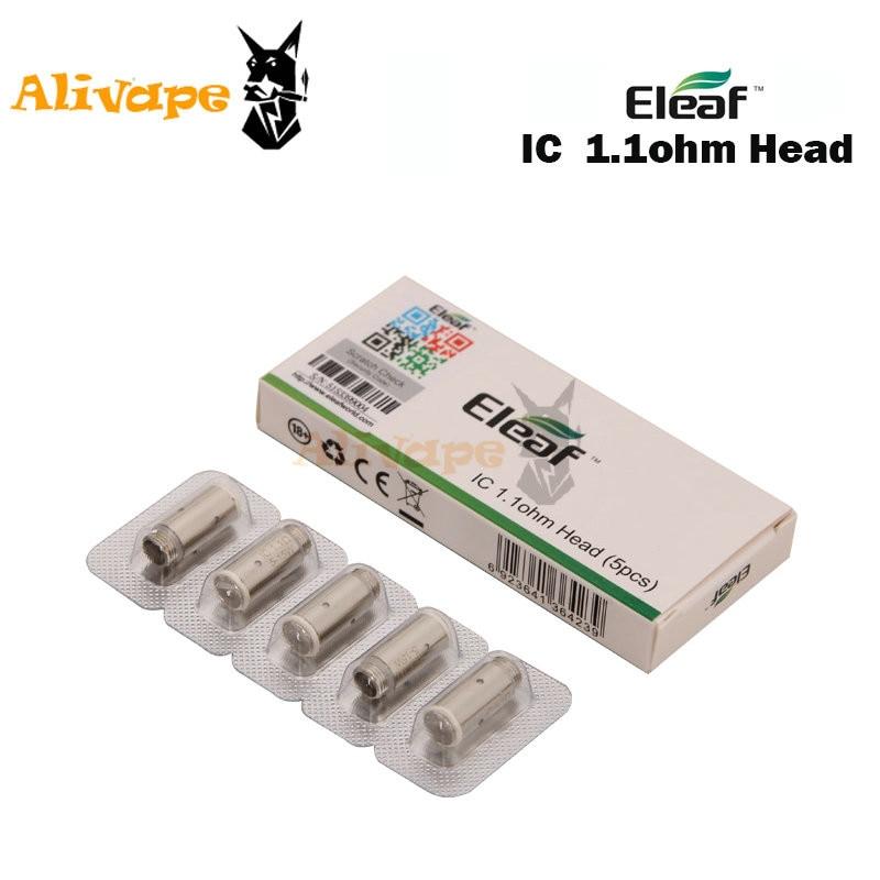 10 шт./лот,, Eleaf IC Head, 1.1ohm, одна катушка, головка для iCare/iCare, Мини, Elektronik, Sigara, испаритель