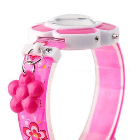 Lovely Flower Cute Boys Girls Kids Sport Watches Cartoon Children Watches Princess Silicone LED Digital Wrist Watches Party Gift Karachi