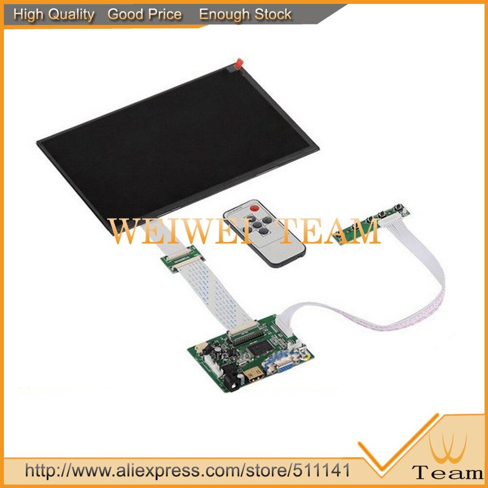 10,1 дюймов ips для Raspberry Pi мониторы 1280 (RGB) * 800 TFT EJ101IA-01G HD ЖК дисплей с дистанционным драйвер платы hdmi 2AV VGA банан pi